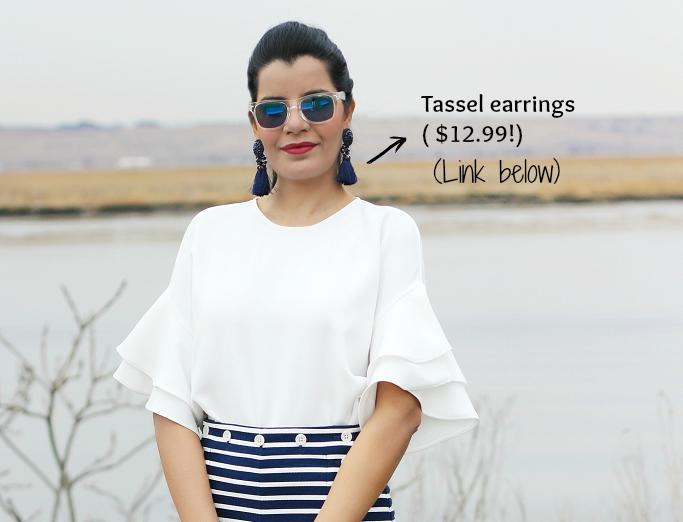 H&M Tassel Earings