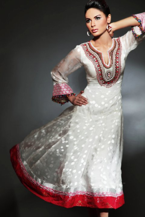 aaf1482ce Pakistan Fashion World  Latest -Pakistani Frock Designs- 2011