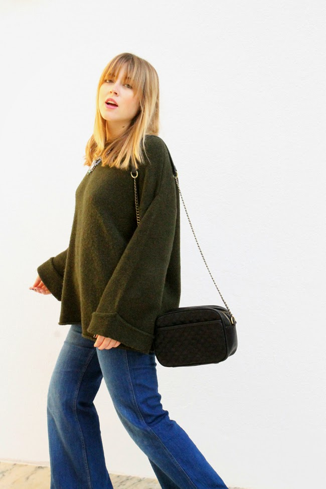 Oversize sweater toks