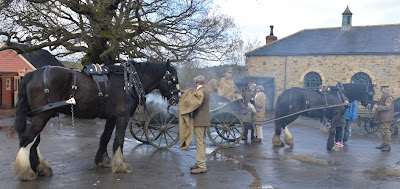 A Bus Trip to the Horses at War Event at Beamish - Horses at the Colliery