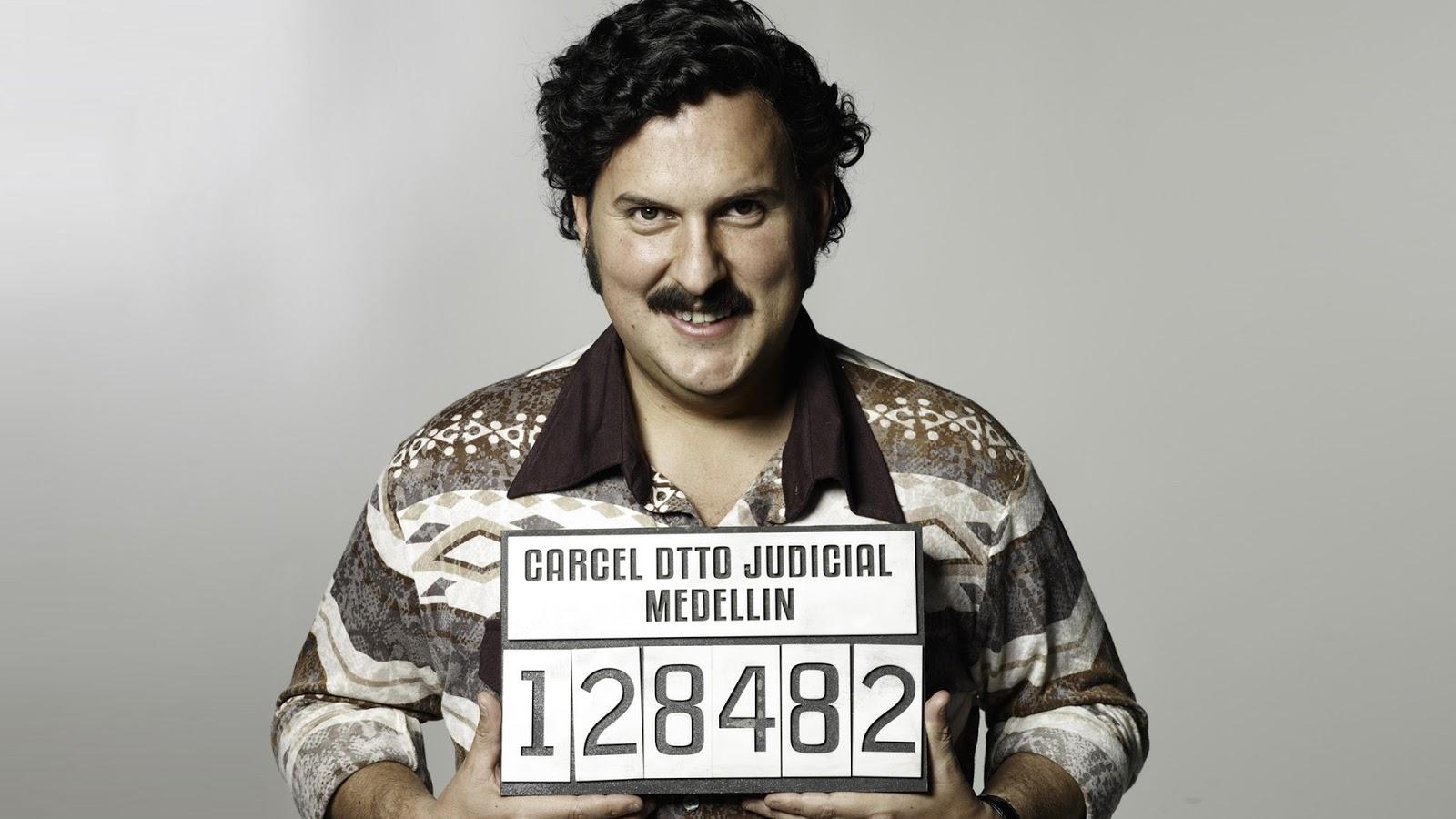 Pablo Escobar en 'El patrón del mal'