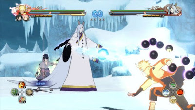 NARUTO SHIPPUDEN game 2016 image inside the game