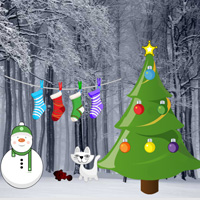 Games2Rule Easy Christmas Forest Escape