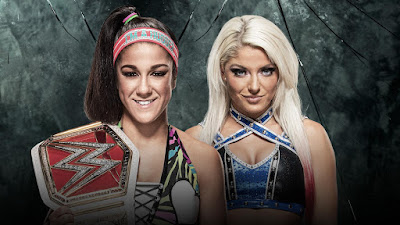 Bayley vs. Alexa Bliss Singles match for the WWE Raw Women's Championship