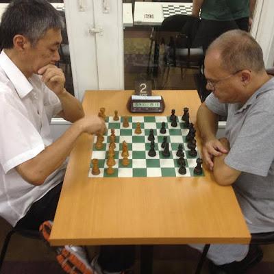 Os MIs Edson Kenji Tsuboi e Mauro Guimarães de Souza enfrentaram-se na última rodada