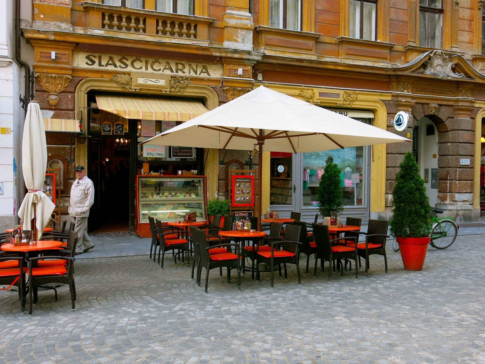 Ljubljana, Slovenia: Laid-back City of Bicycles, Coffee, Sweets ...
