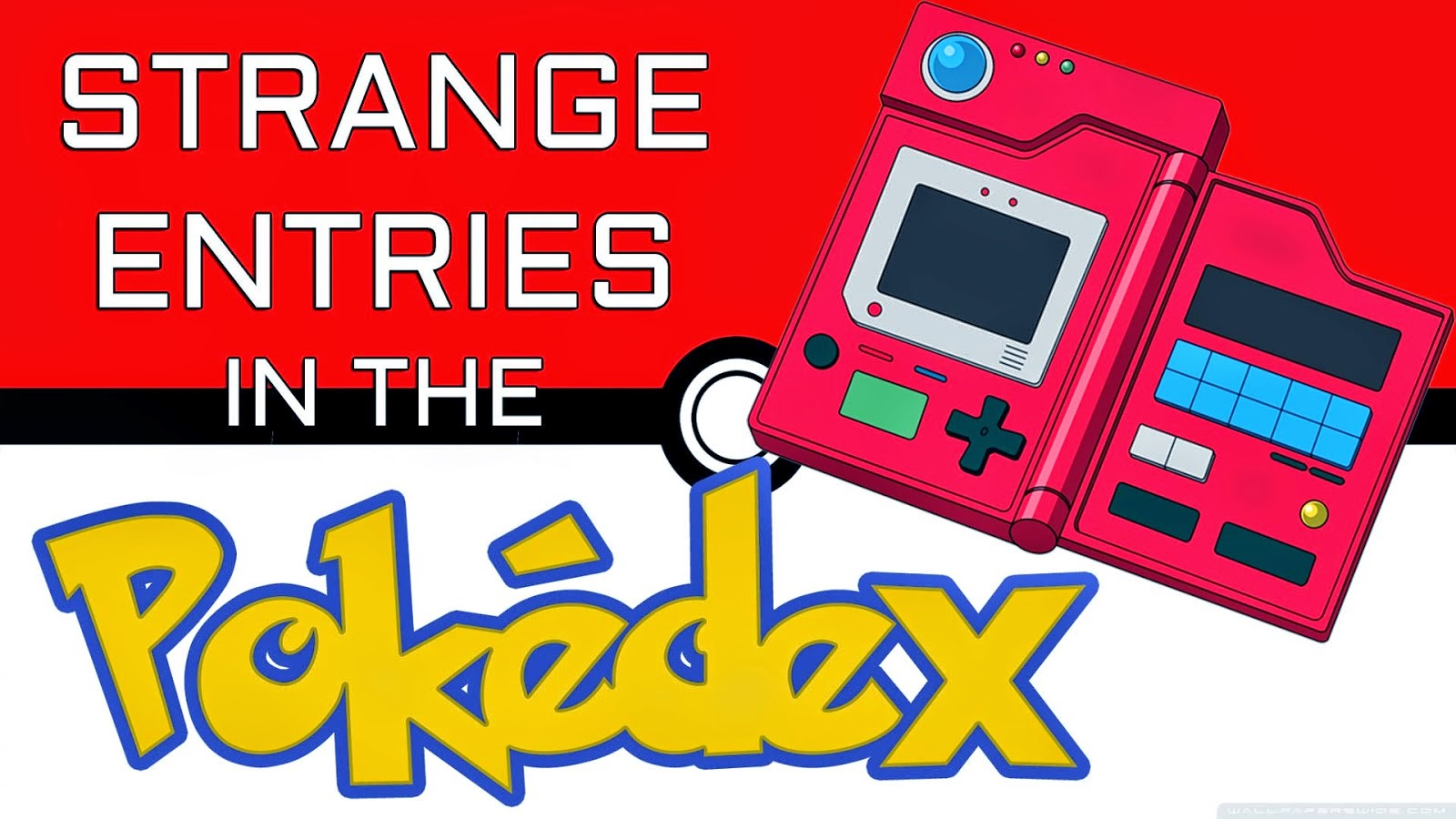 odd Pokedex funny Pokemon stats