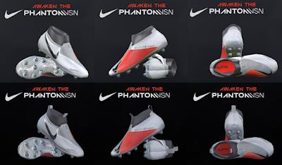 PES 2018 / PES 2017 Nike Phantom VSN 2018 by Tisera09
