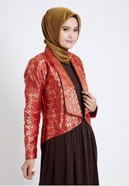 Model Baju Muslim Blazer Modern Terbaru