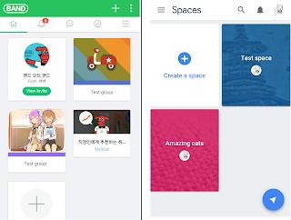 Naver Band vs. Google Spaces