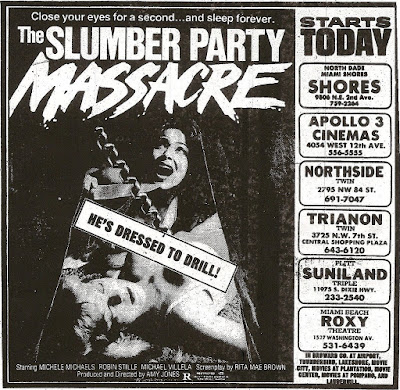Happyotter: THE SLUMBER PARTY MASSACRE (1982)