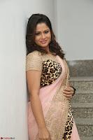 Shilpa Chakravarthy in Lovely Designer Pink Saree with Cat Print Pallu 012.JPG