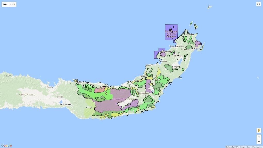 RTRW Sulawesi Utara