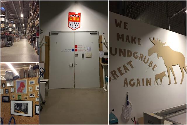 IKEA Family Midsommar Uebernachten im IKEA Einrichtungshaus Koeln hinter den Kulissen Warenausgabe Lager Smaland