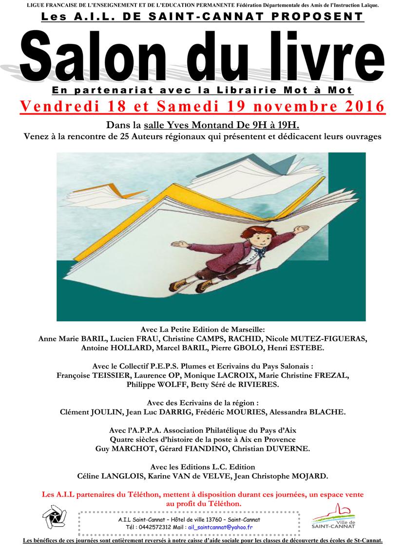 Plumes et ecrivains du pays salonais les v nements du peps for Interlude salon de provence