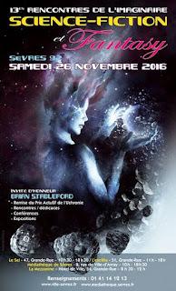 13è rencontres de l'imaginaire Sèvres affiche