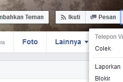 Cara Reques Blokir Akun Facebook Orang Lain