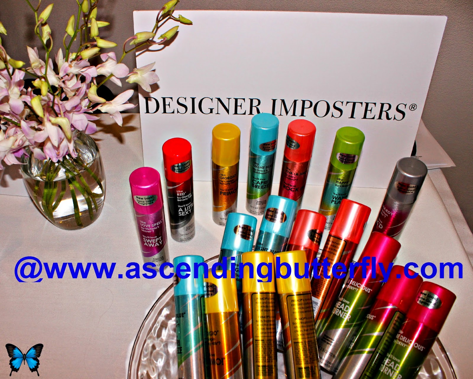 Designer Imposters at Getting Gorgeous 2014, Fragrance Rebel, parfums de coeur