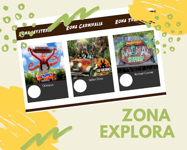 zona explora jungleland adventure theme park sentul