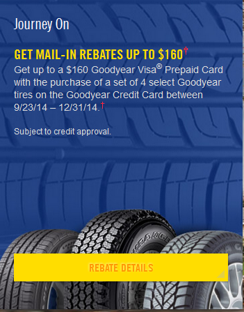 goodyear ire rebate