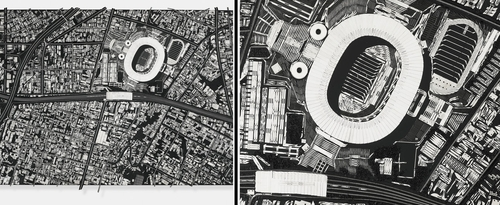 00-Damien-Hirst-Black-Scalpel-Architectural-Cityscapes-Sculpture-Art-www-designstack-co