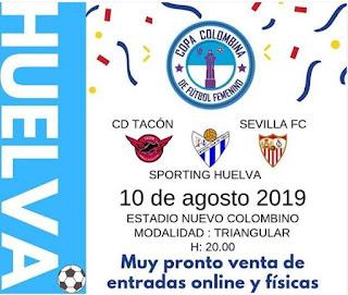 CD. Tacón jugara la  I Copa Colombina de Fútbol Femenino