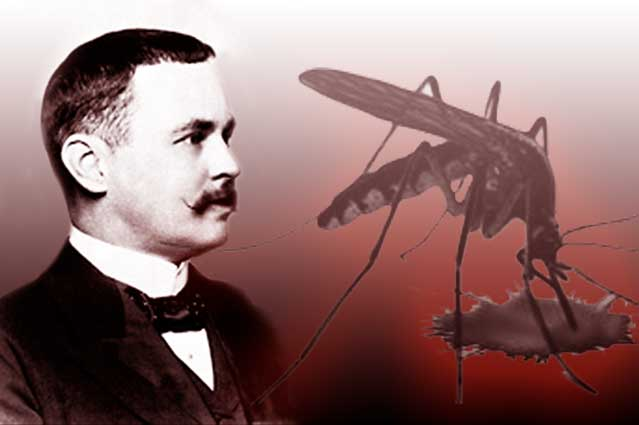 Ronald Ross inventor of the malarial parasite Nations United Kingdom