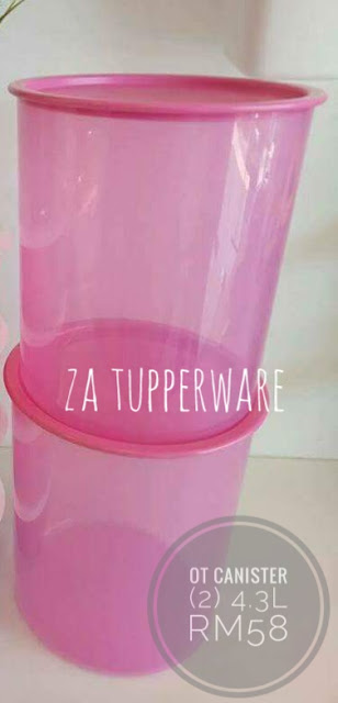 Tupperware  One Touch Canister Large (2) 4.3L