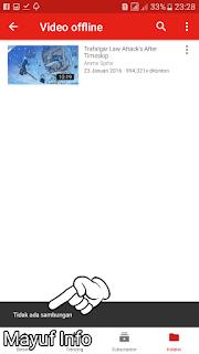 Cara Nonton Video Youtube Offline Gratis Tanpa Paket Kuota Internet