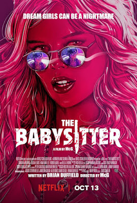 The Babysitter 2017 DVD Custom HD Latino