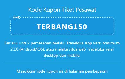 Traveleloka Kupon Diskon Tiket Pesawat