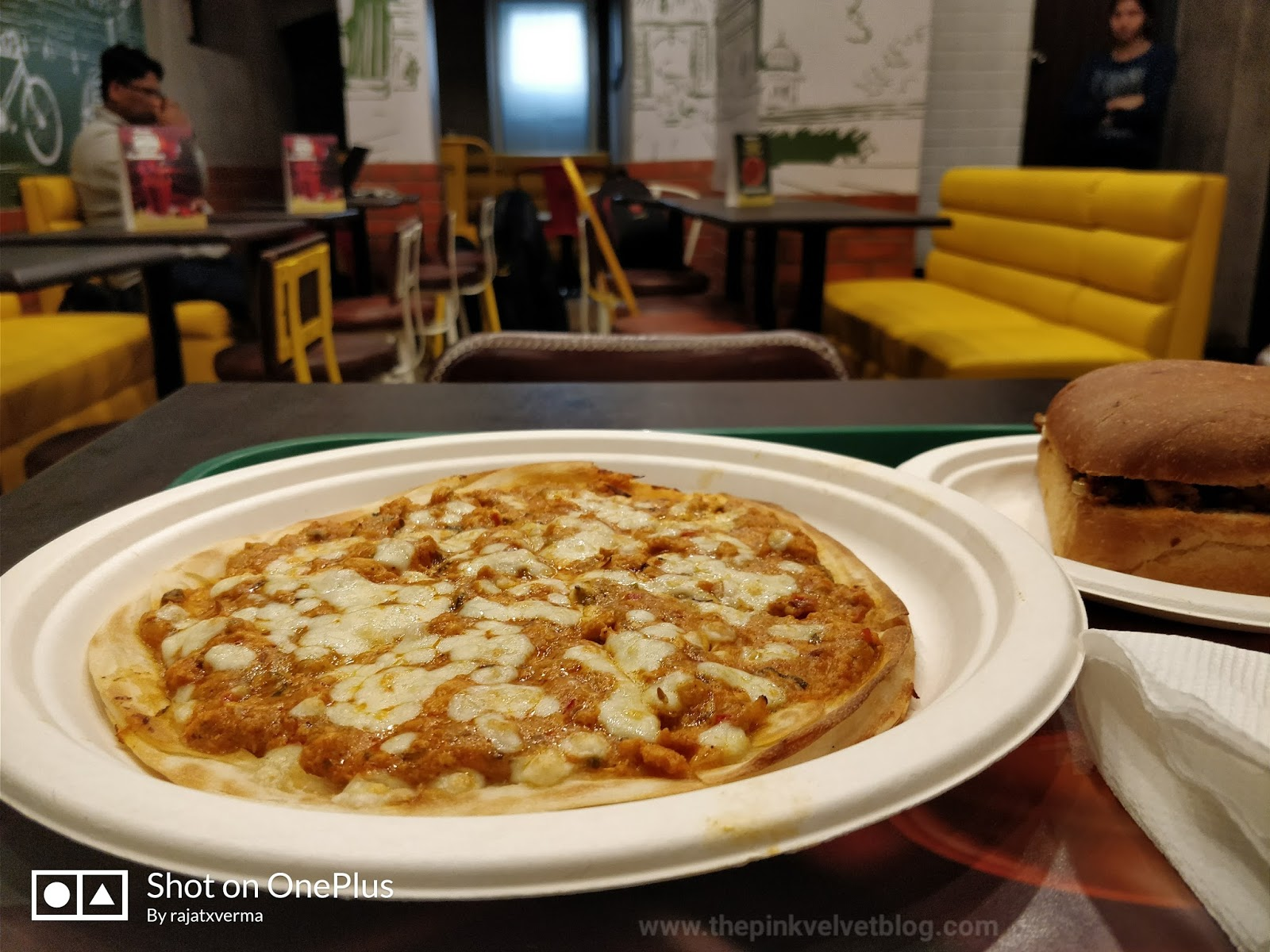 Chaayos - Chicken Keema Loaded Open Parantha