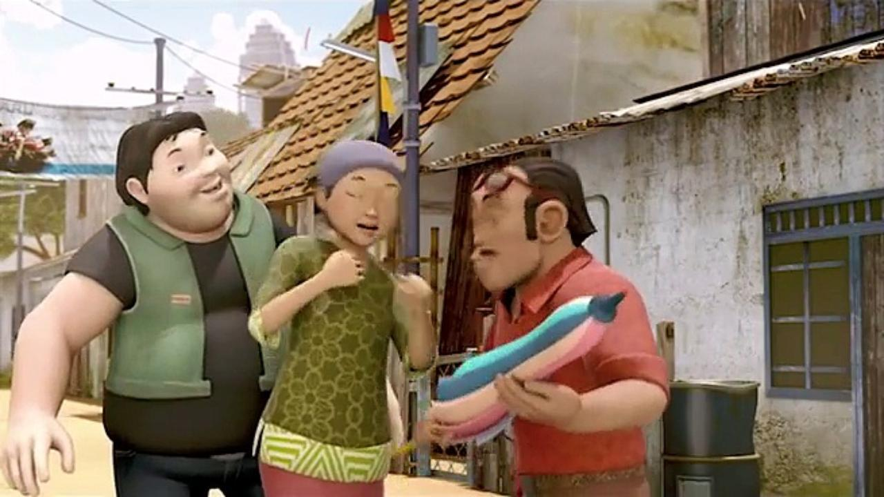Kopi Hangat Gambar Adit Sopo Jarwo Film Animasi Indonesia