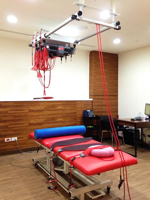好痛痛 壢新醫院 運動醫學中心 redcord 紅繩懸吊系統 運動治療 物理治療 核心肌群 訓練