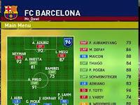 Master League Barcelona PES 2016 tahun 2024-2025 untuk PTE Patch