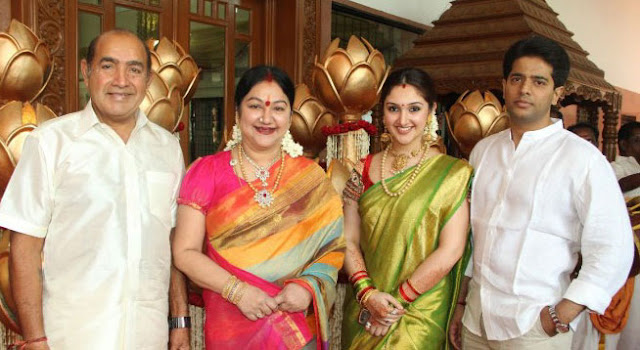 Sridevi Vijaykumar Family Photo