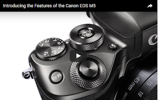 Introducing the Features of the Canon EOS M5 - Official Canon Video