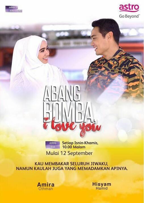 Drama Abang Bomba I Love You (Astro Ria)