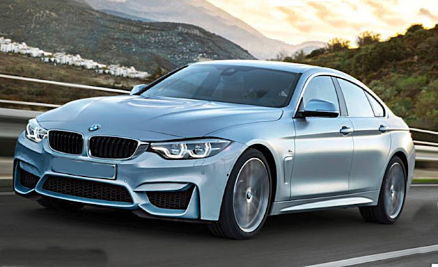 2017 BMW M4 Gran Coupe rendering shows the dream car