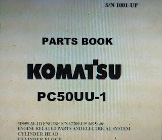 Komatsu PC50UU-1 S/N 1001-UP