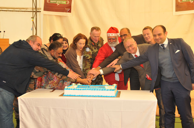 Komandan Kontingan Garuda Unifil Hadiri Perayaan Natal di Lebanon