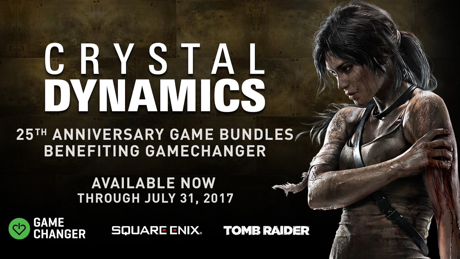 Crystal Dynamics cumple 25 años y lo celebra así