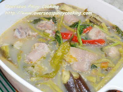 Pork Sinigang sa Sampalok Recipe