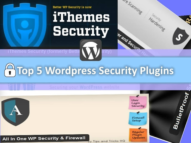 Best Free 5 Security Plugins For Wordpres 2016