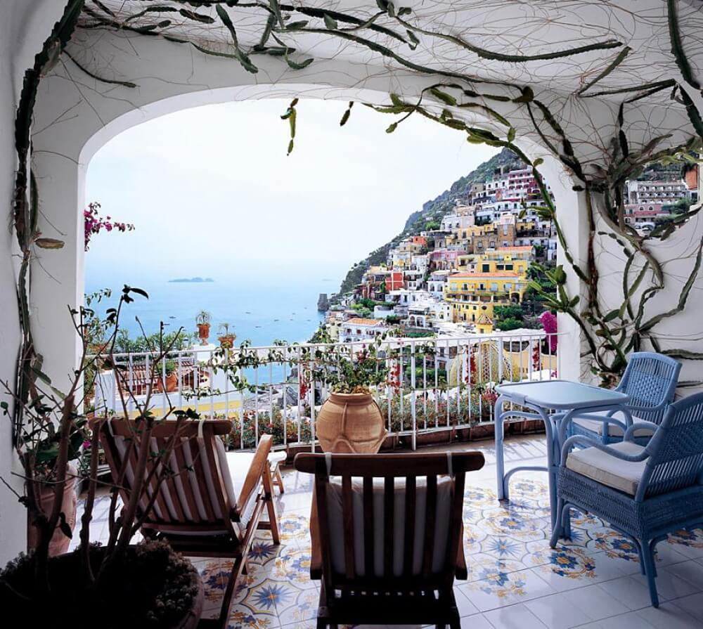 22 Stunning Hotels That Will Make You Want to Book Your Next Trip NOW! - Hotel Le Sirenuse, Amalfi Coast, Italy