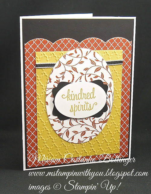 Miriam Castanho-Bollinger, #mstampinwithyou, stampin up, demonstrator, ccmc, anniversary card, regals collection dsp, first sight, big shot, oval collection framelits, fancy fan tief, large scallop edgelits, extra large oval punch, decorative label punch, su