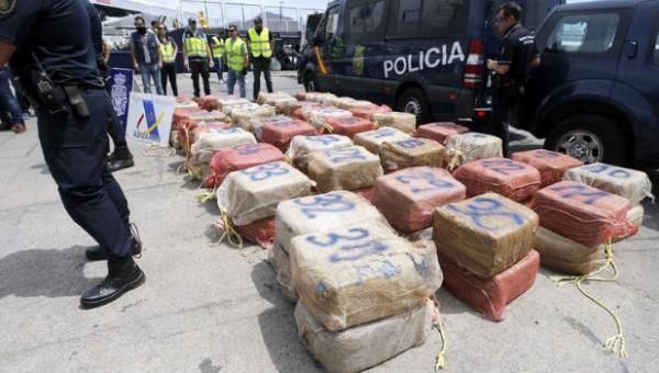 Golpe al cartel de los soloes: España incauta 2,4 toneladas de cocaína en un barco venezolano
