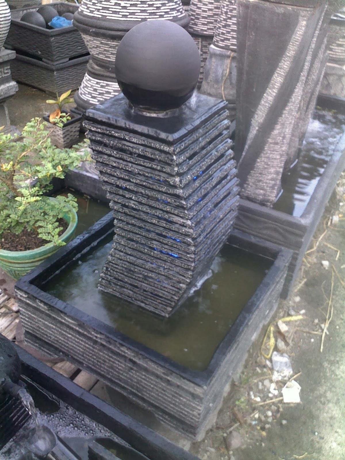 Kolam mini kolam minimalis air mancur mini kolam kecil