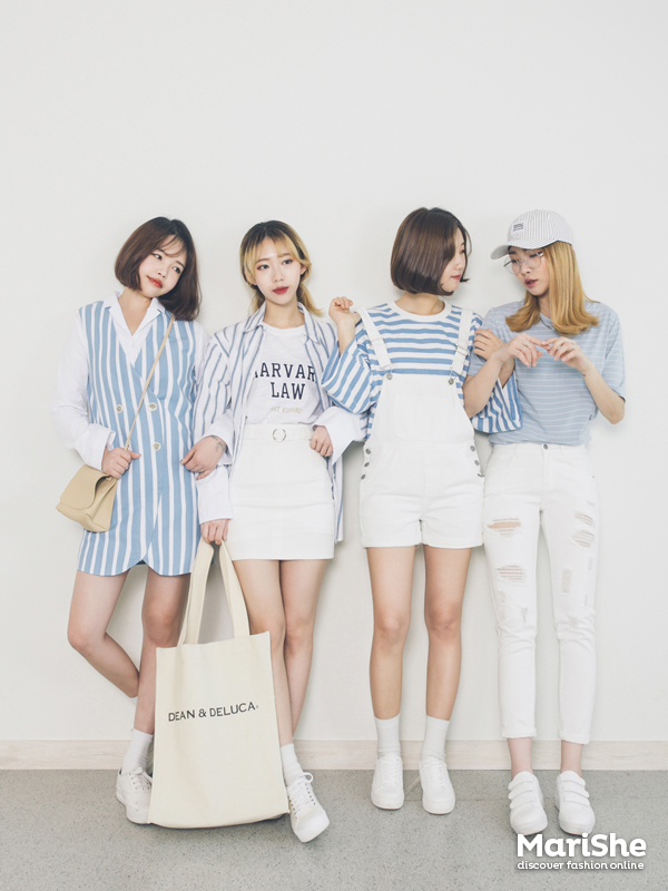 Korean Fashion Similar Look The Similar Look Twinning With Your Girlfriends Without Actually Lo Ng Like Twins