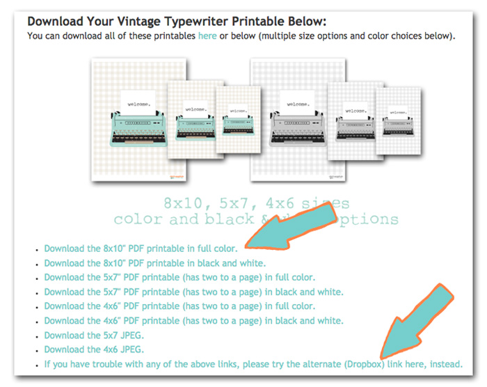 What is a Printable?